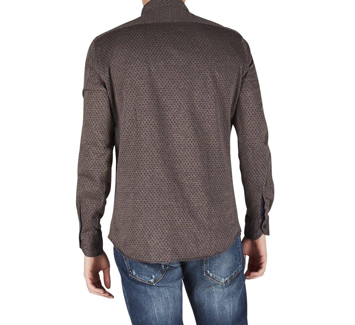 Camicia in cotone jersey