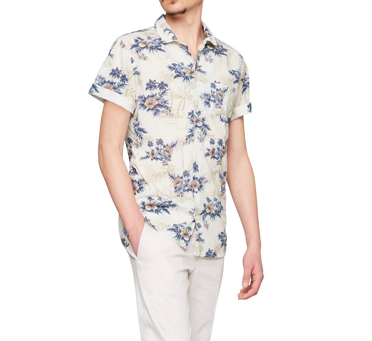 Camicia in stile floreale