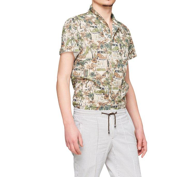 Camicia in stile esotico