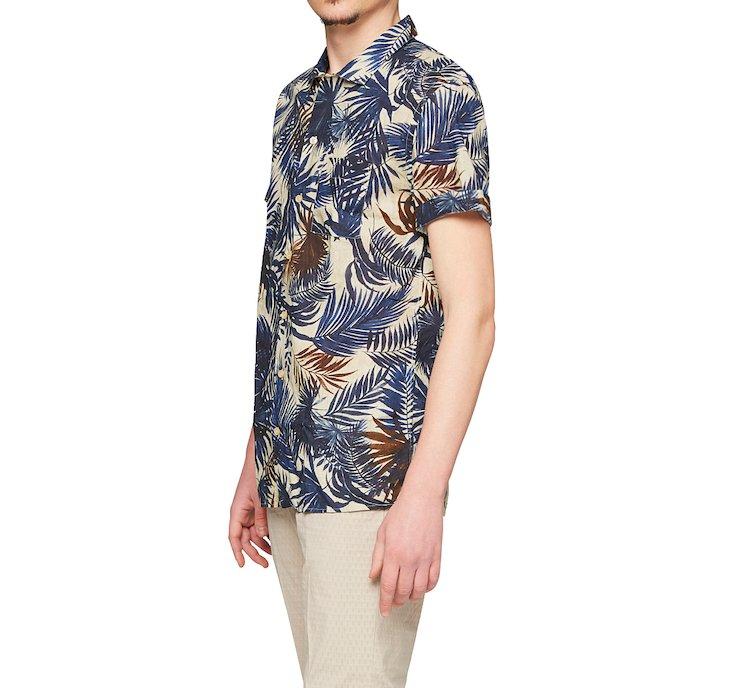 Camicia in stile tropicale