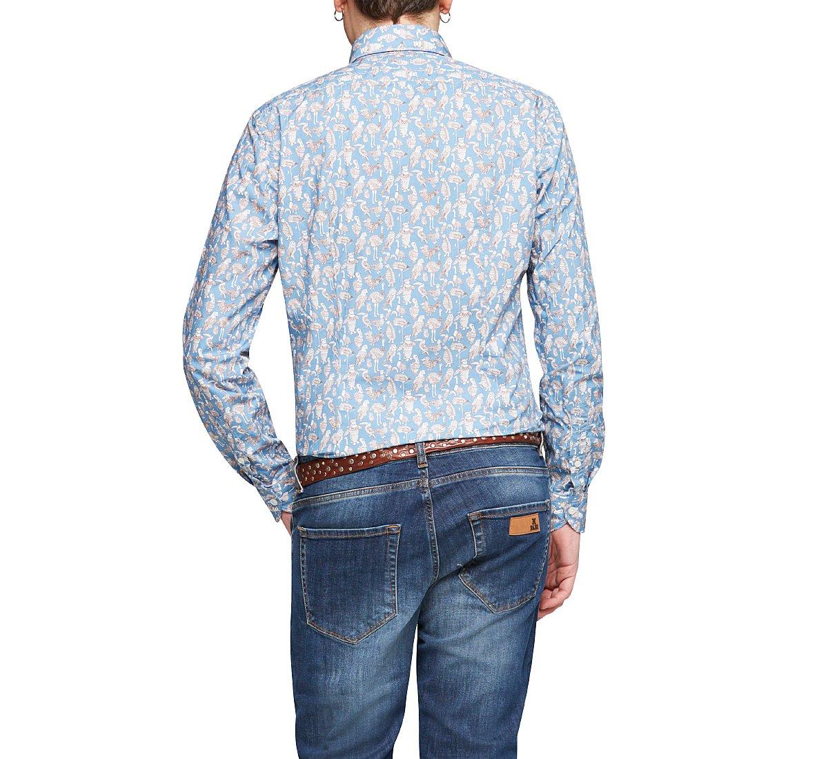 Рубашка из хлопка стандартного кроя
