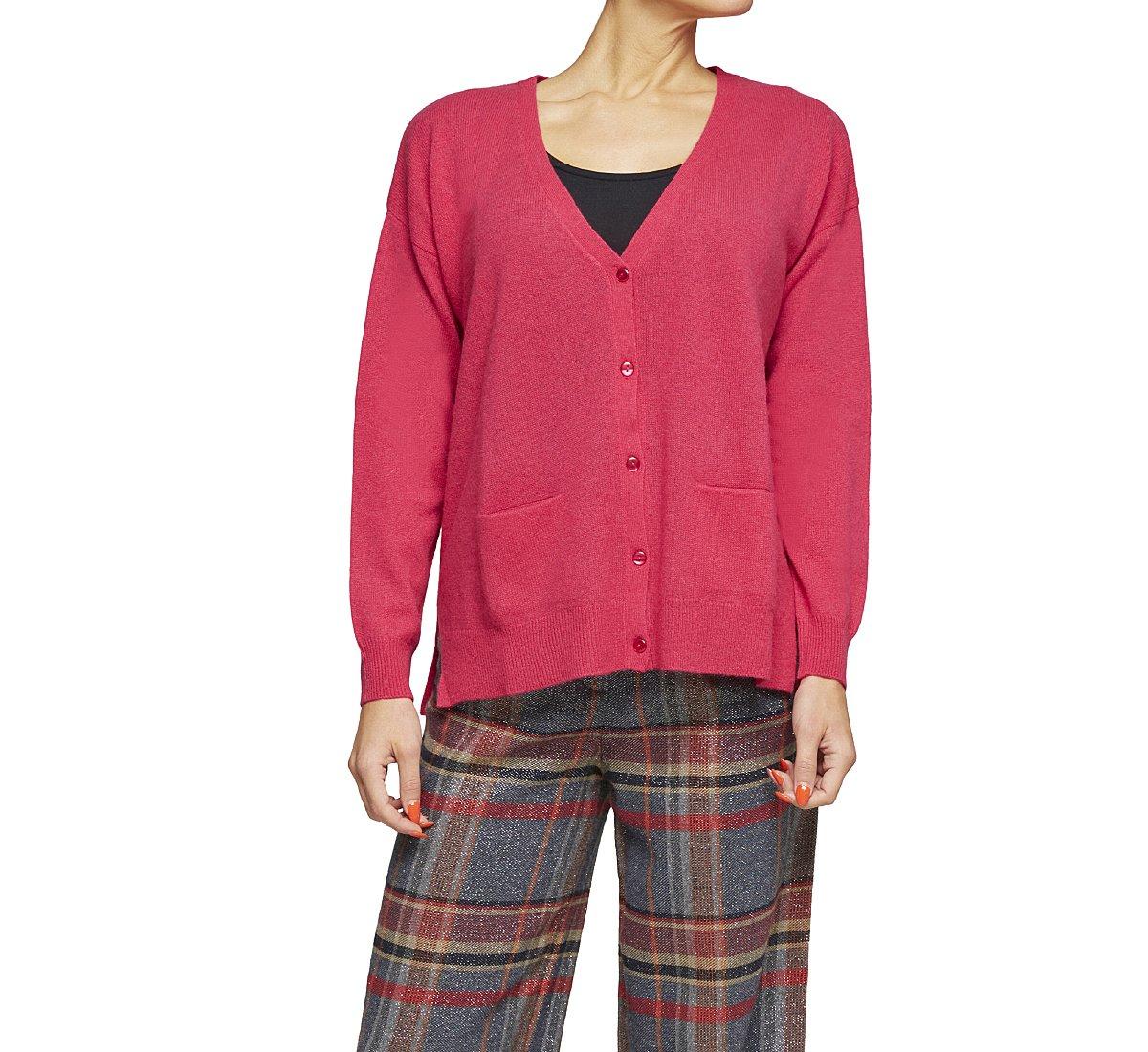 Cardigan in fine cashmere