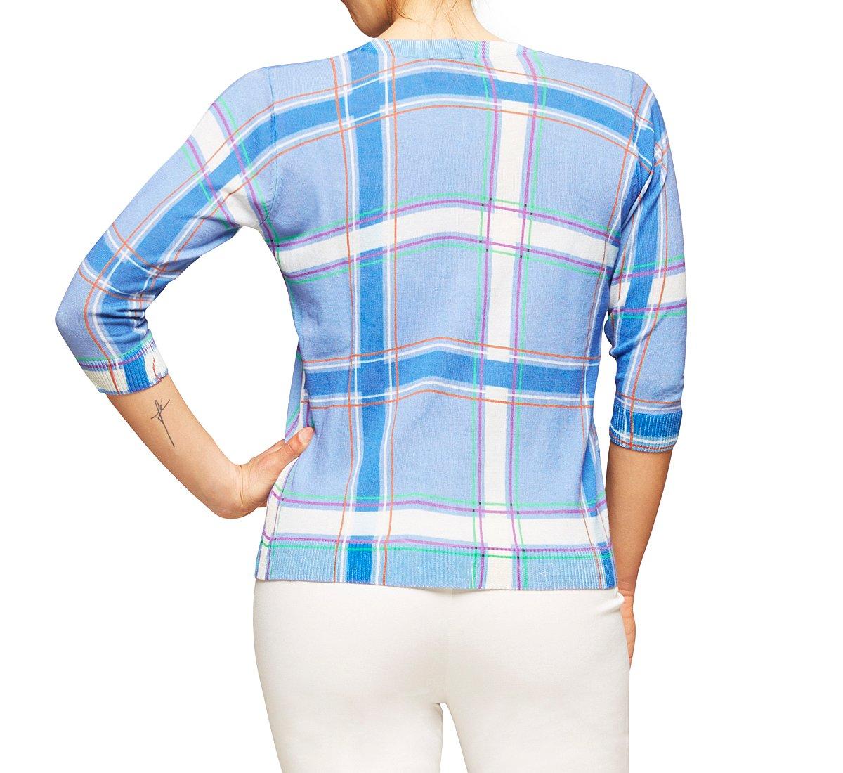 Light cotton and silk sweater