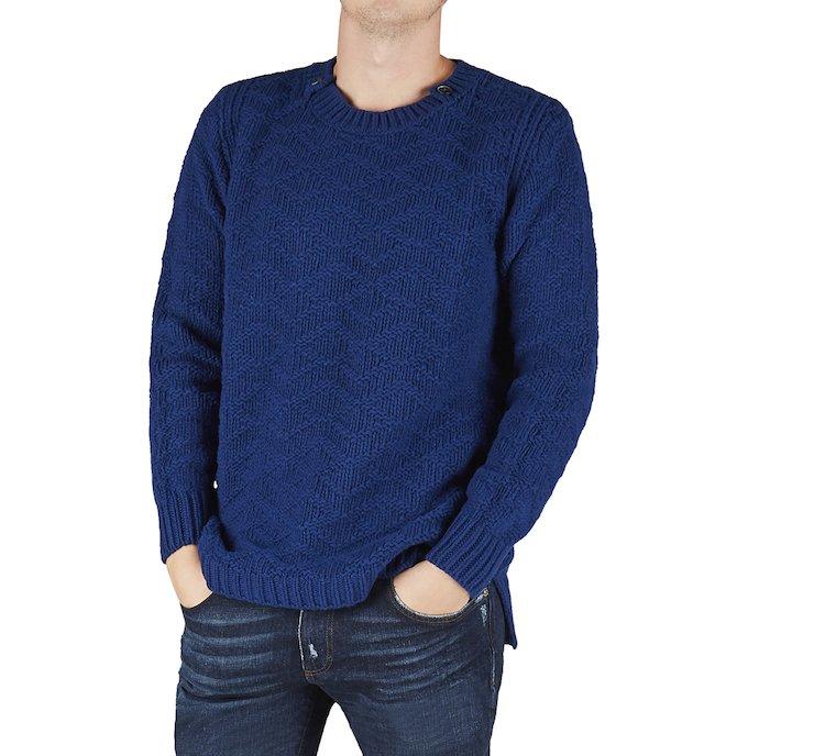 Maglione in calda lana merino