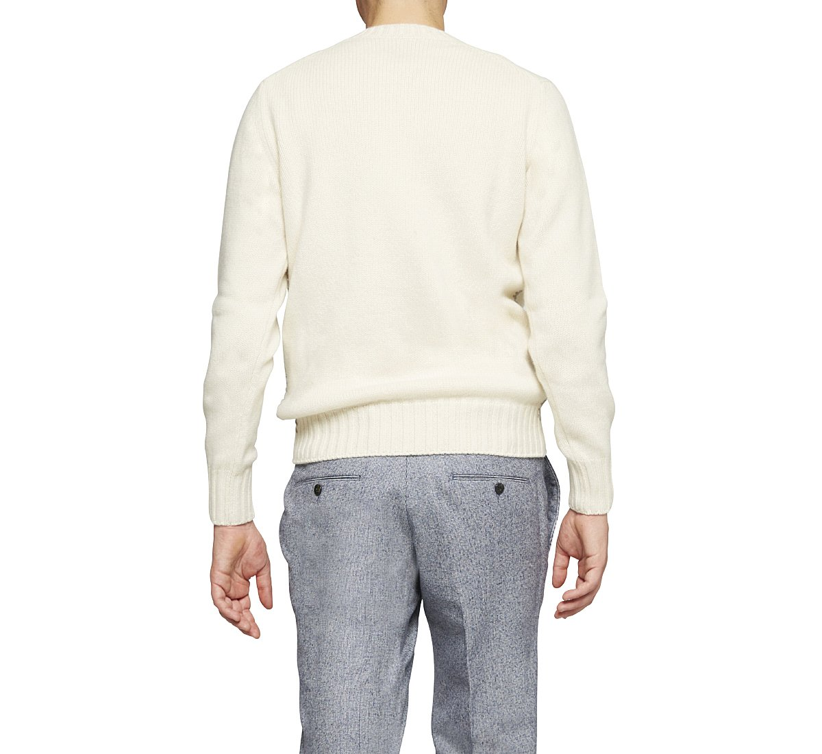 High-quality cashmere jersey