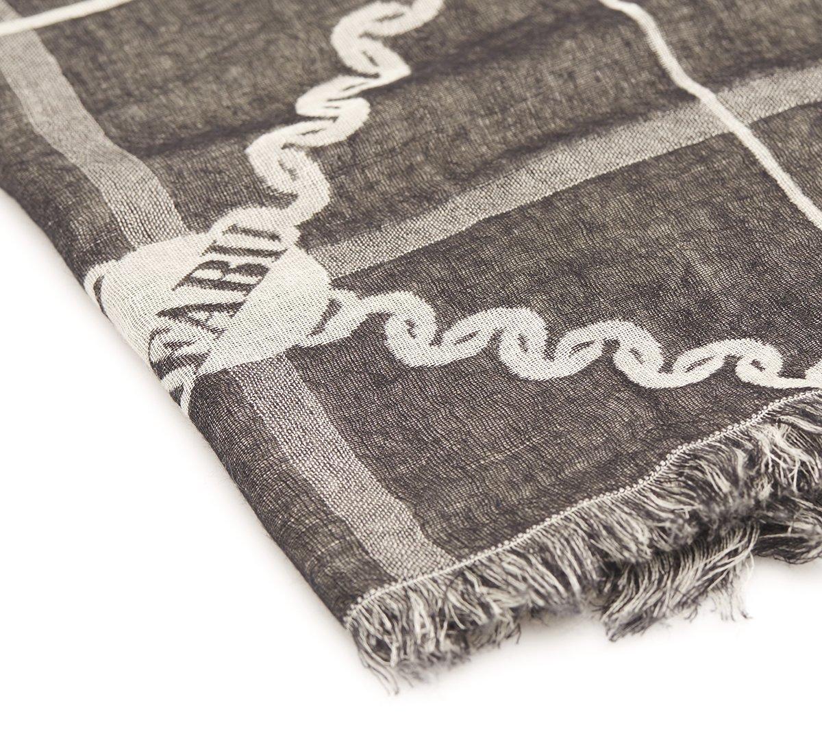 Sciarpa chain in cashmere