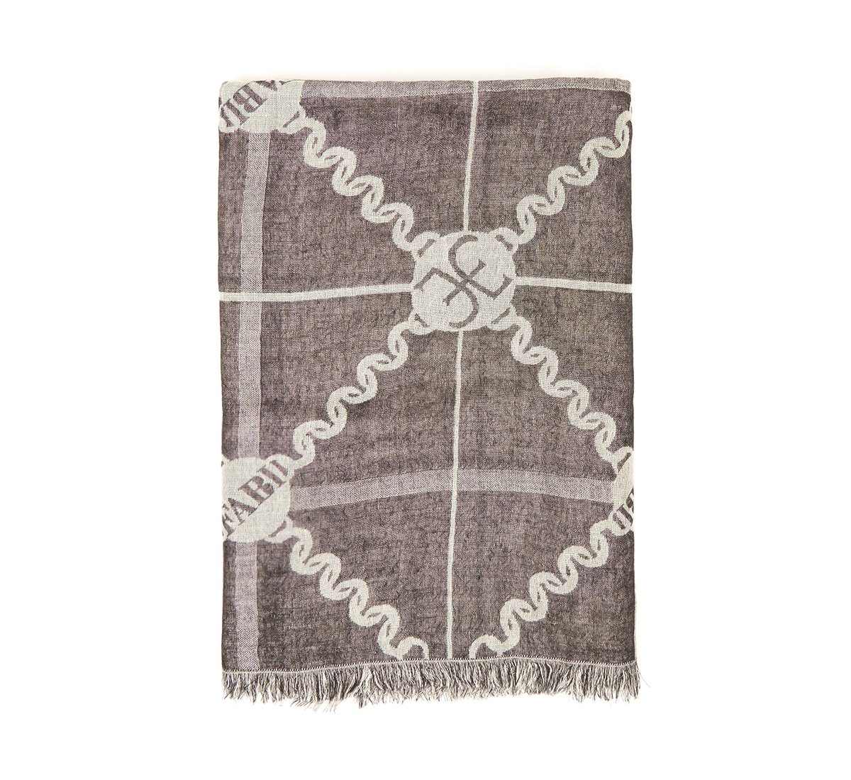 Sciarpa chain in cashmere