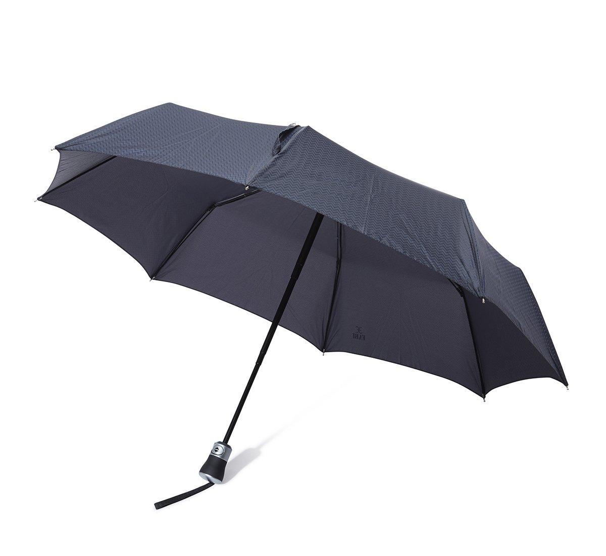 Ombrello zig zag blu