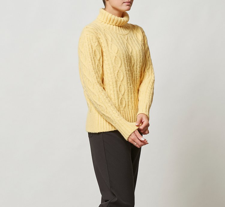 Warm wool sweater