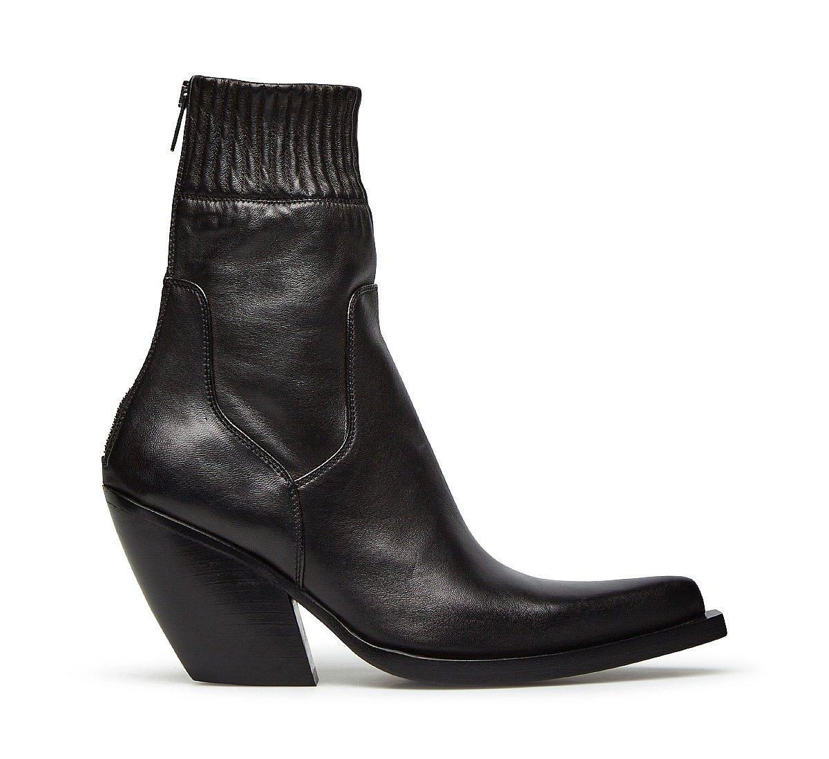 Barracuda soft nappa cowboy boots