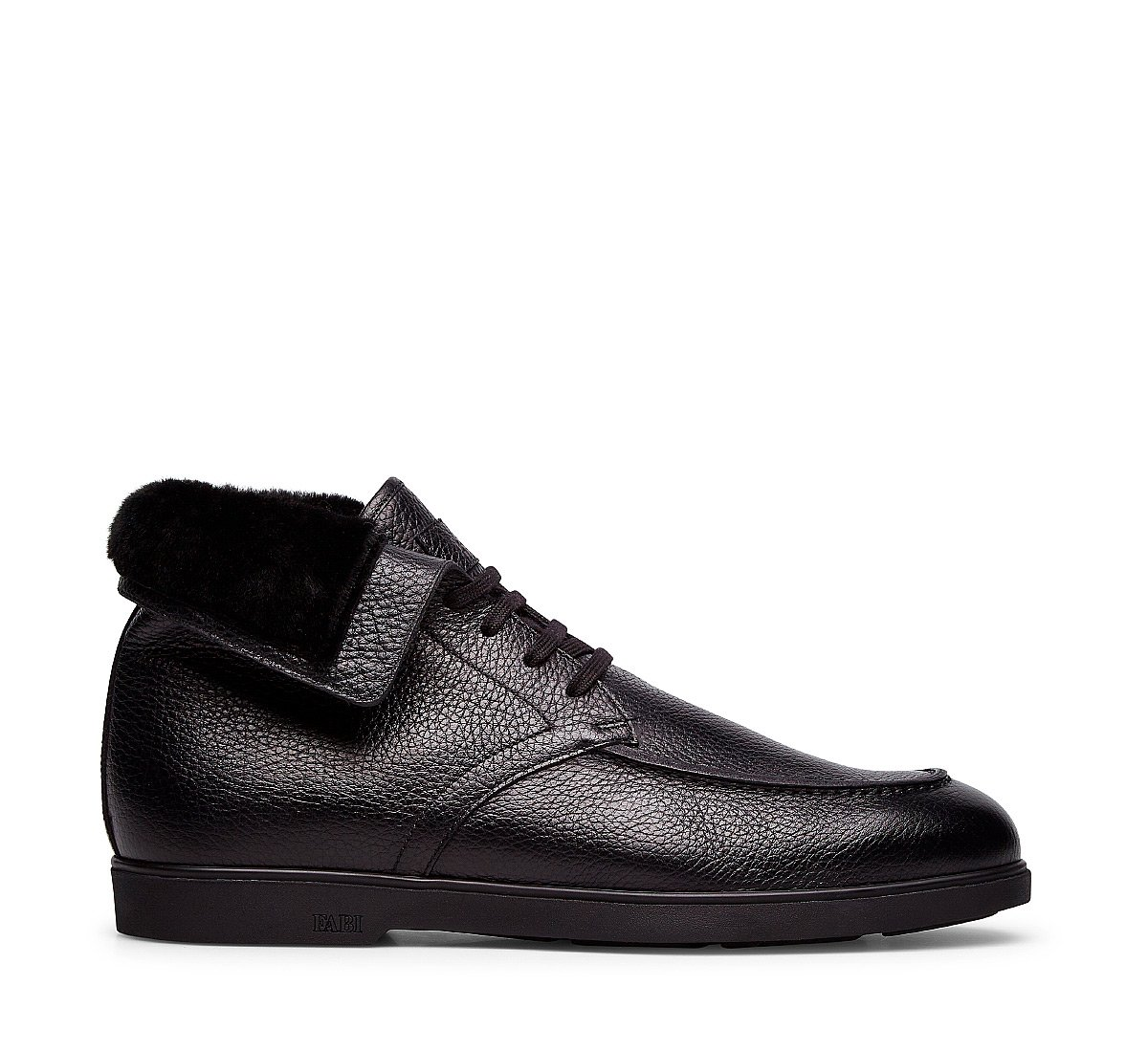 Calfskin ankle boots