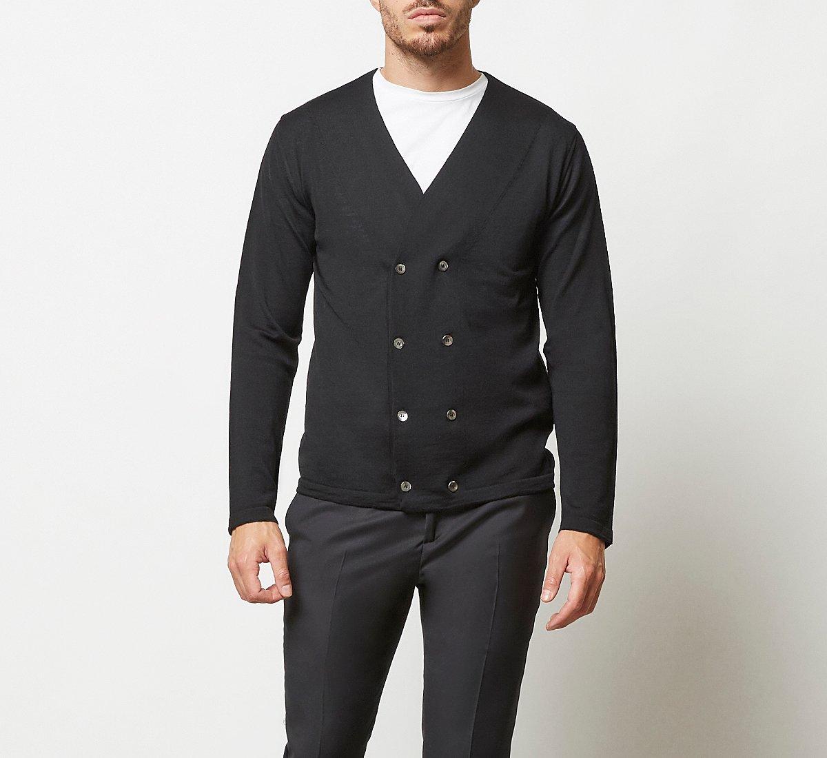 Cardigan in morbida lana