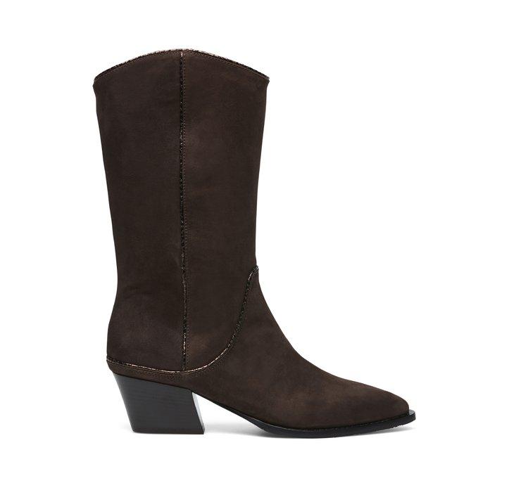 Soft calfskin boots