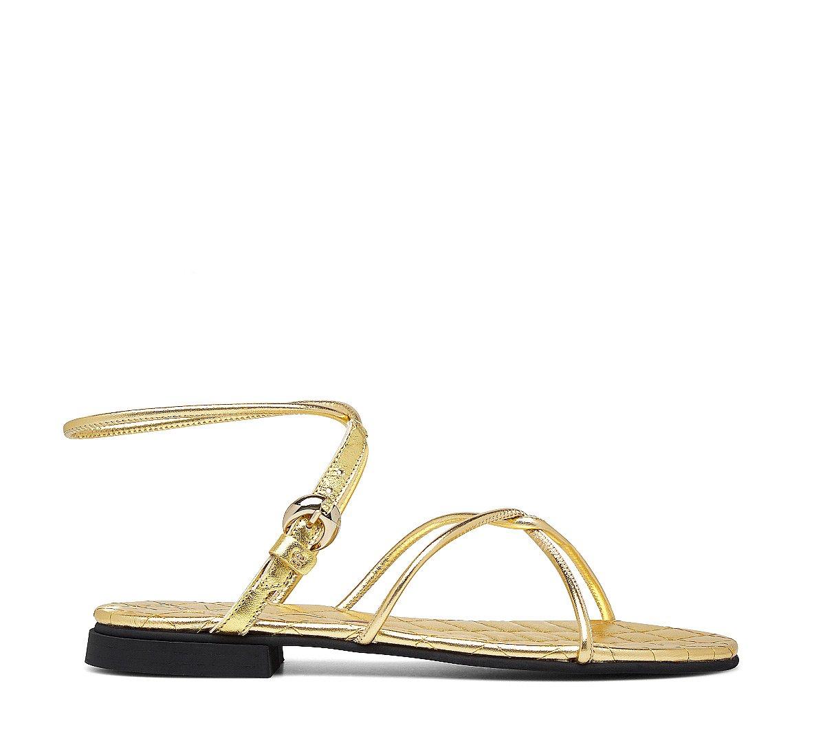 Nappa sandals