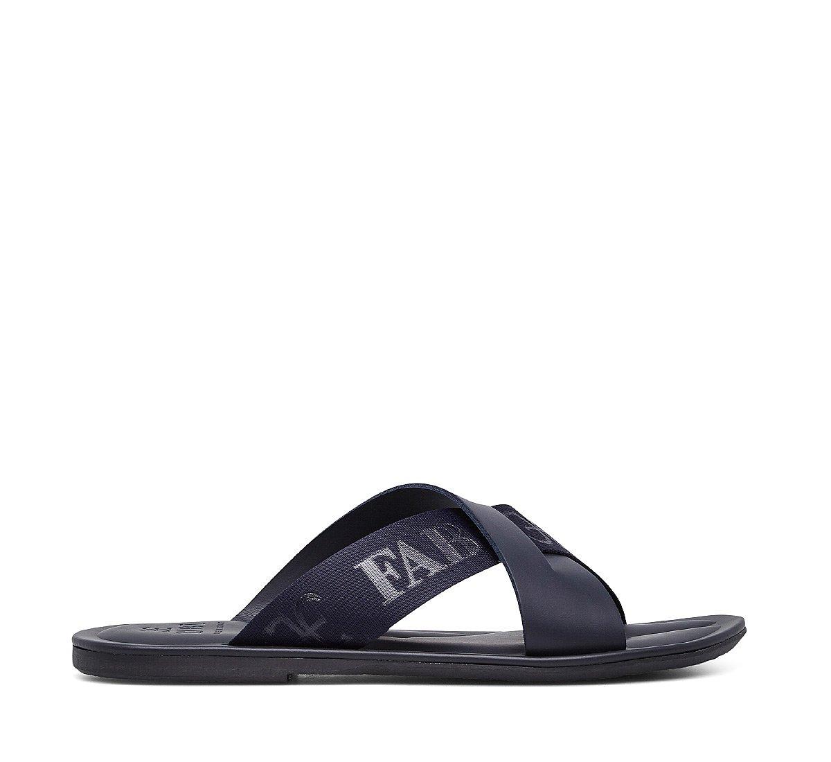 Sandalo logato Fabi