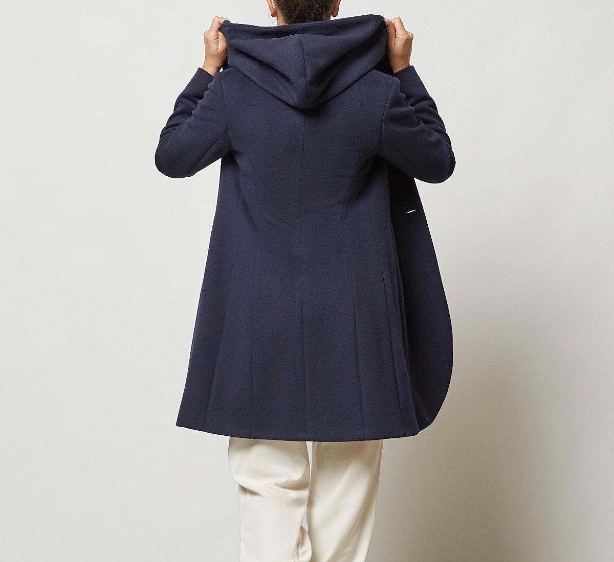 Cappottino doppio petto in lana