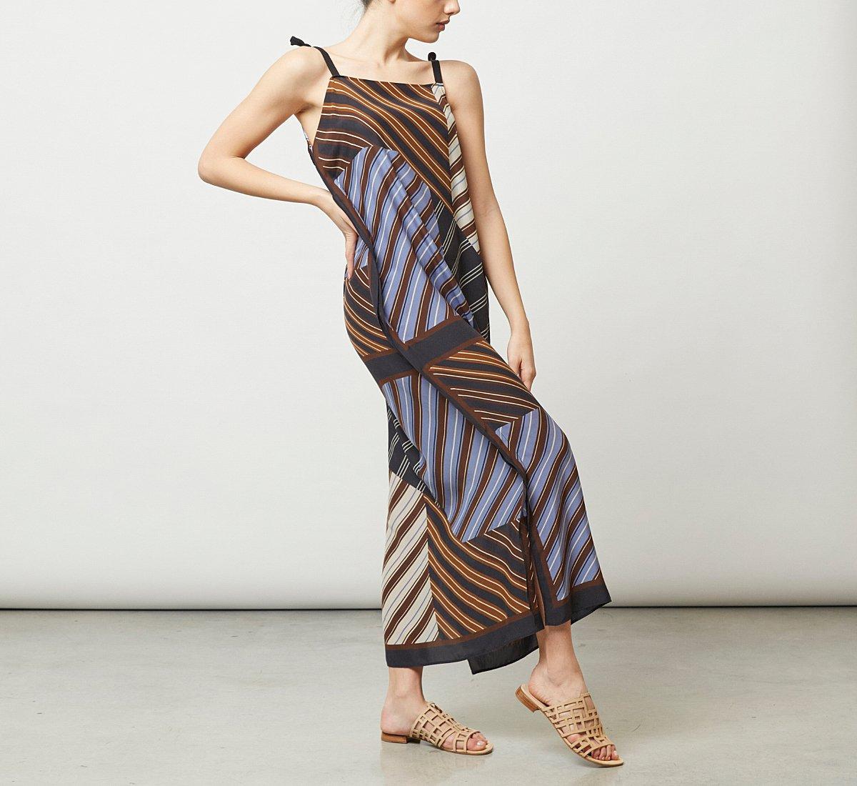 Long fabric dress