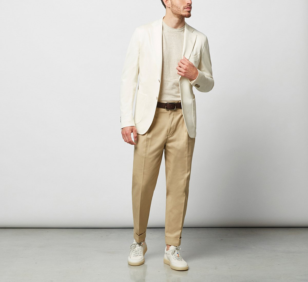Chinos in cotone