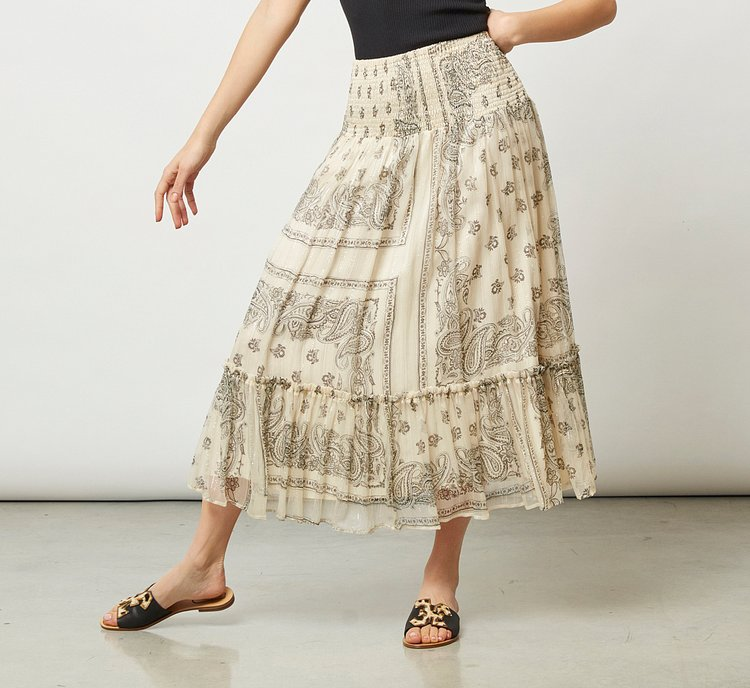 Loose-fitting skirt