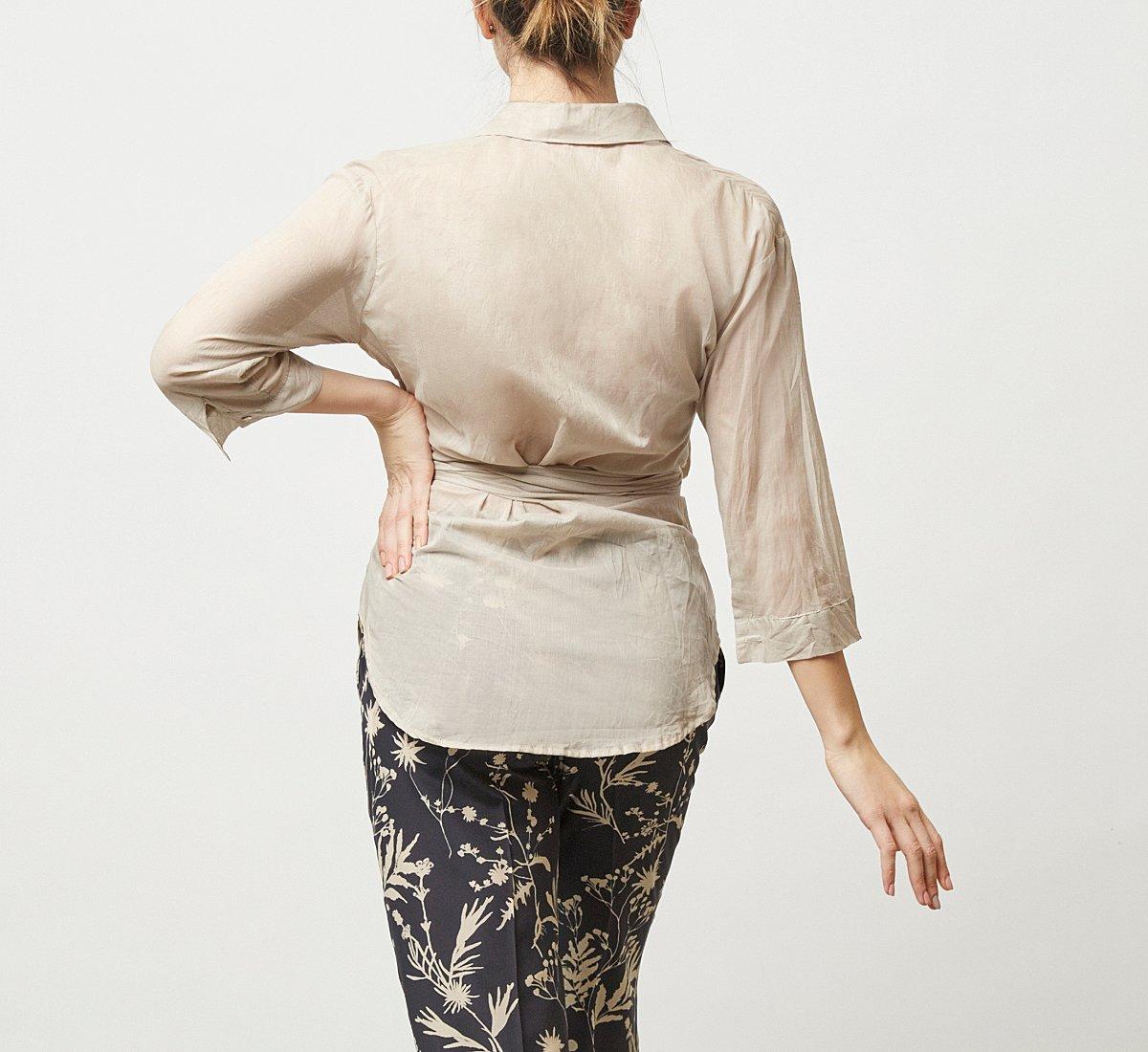 Рубашка из ткани