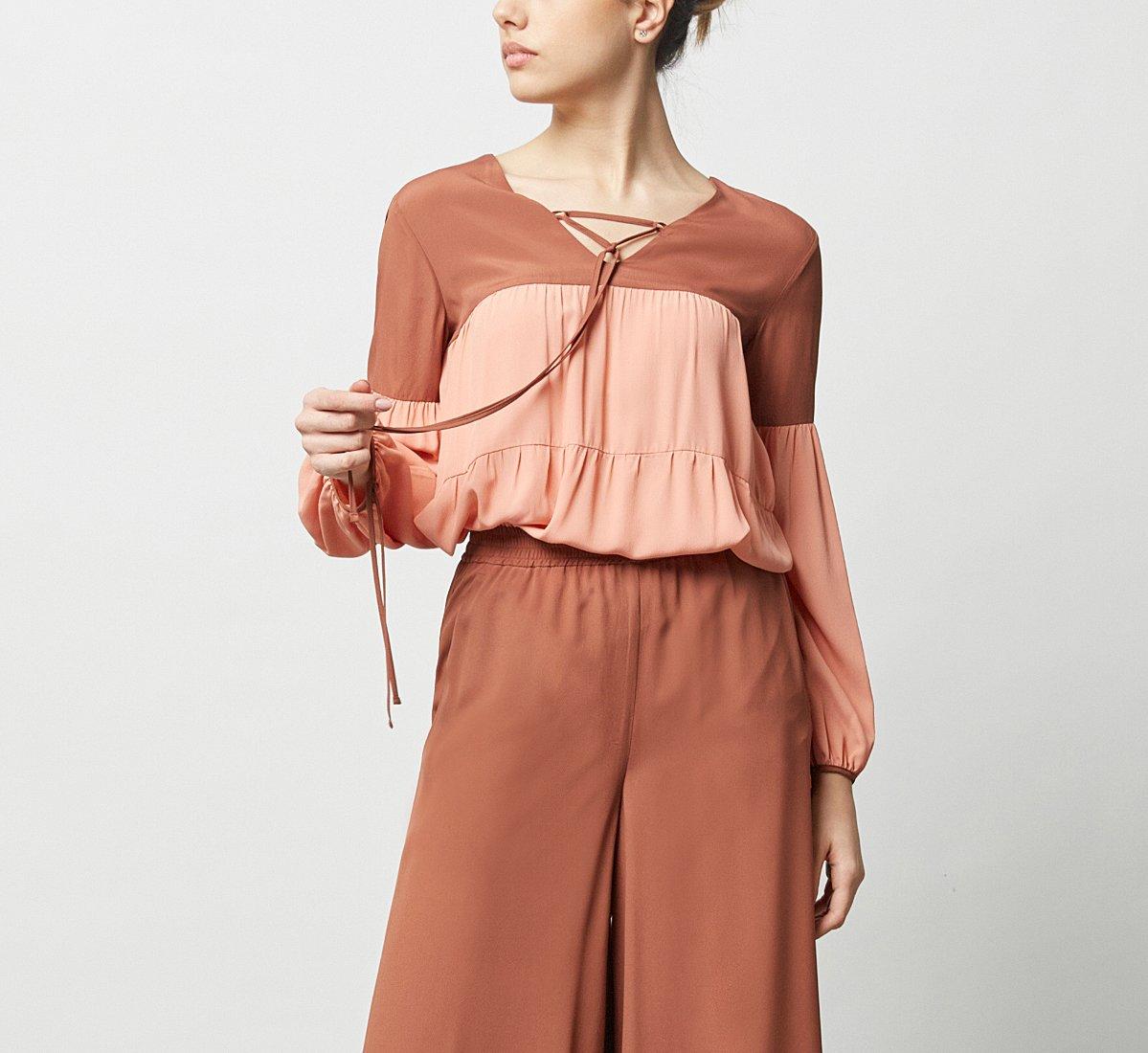 Fabric blouse