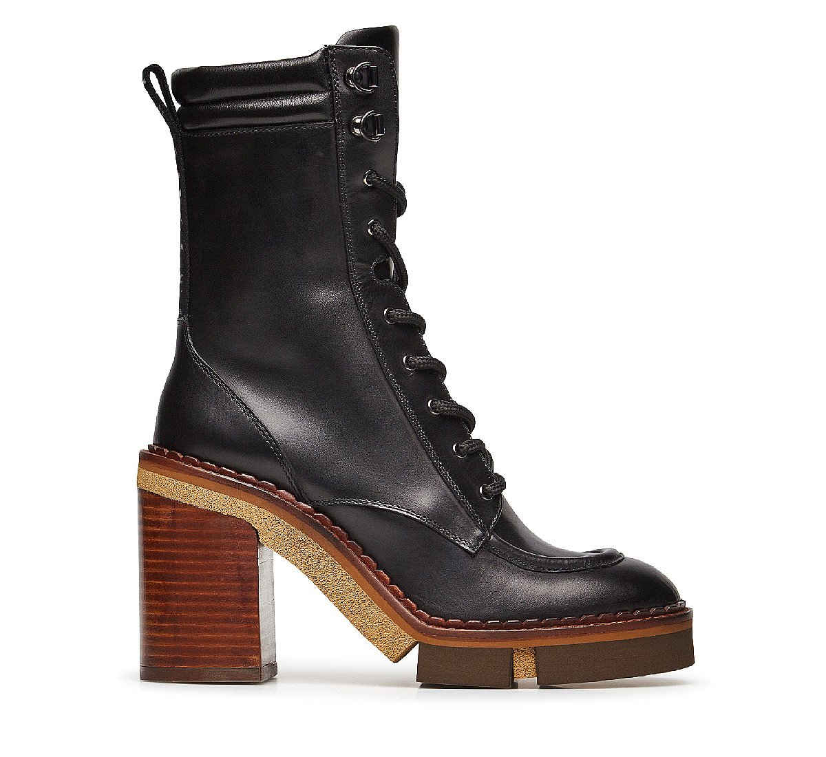 Soft calfskin ankle boots
