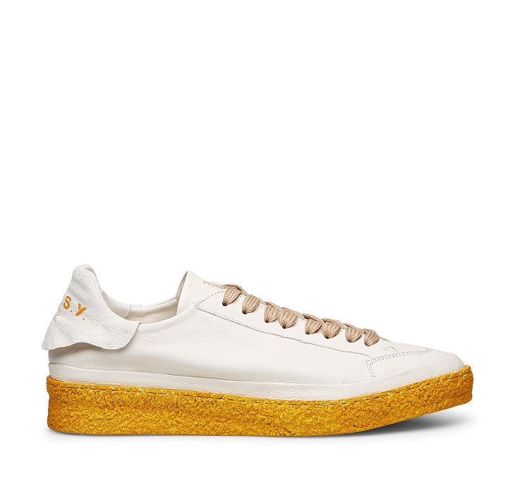 E.A.S.Y. sneakers.