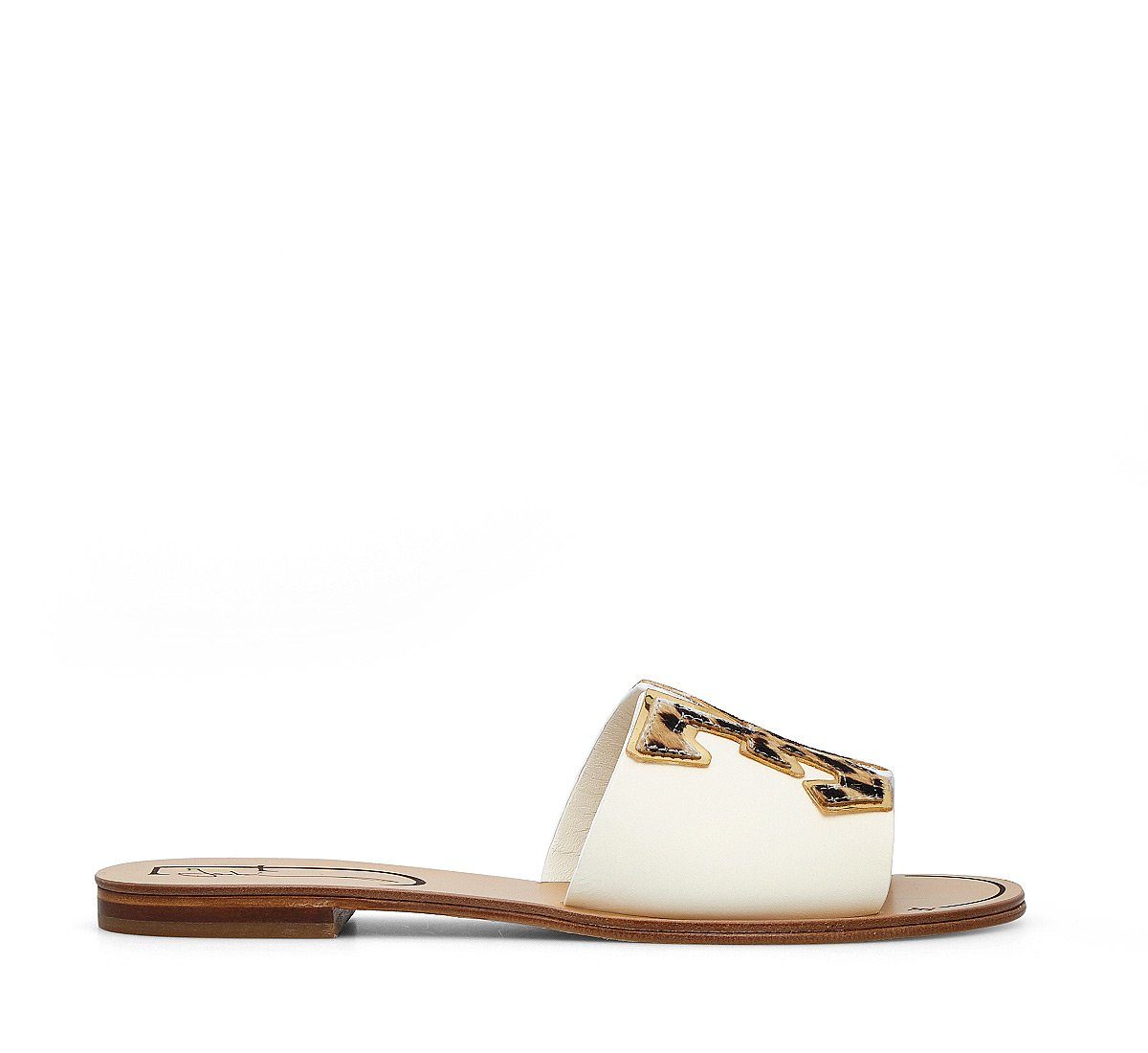 Calfskin slippers