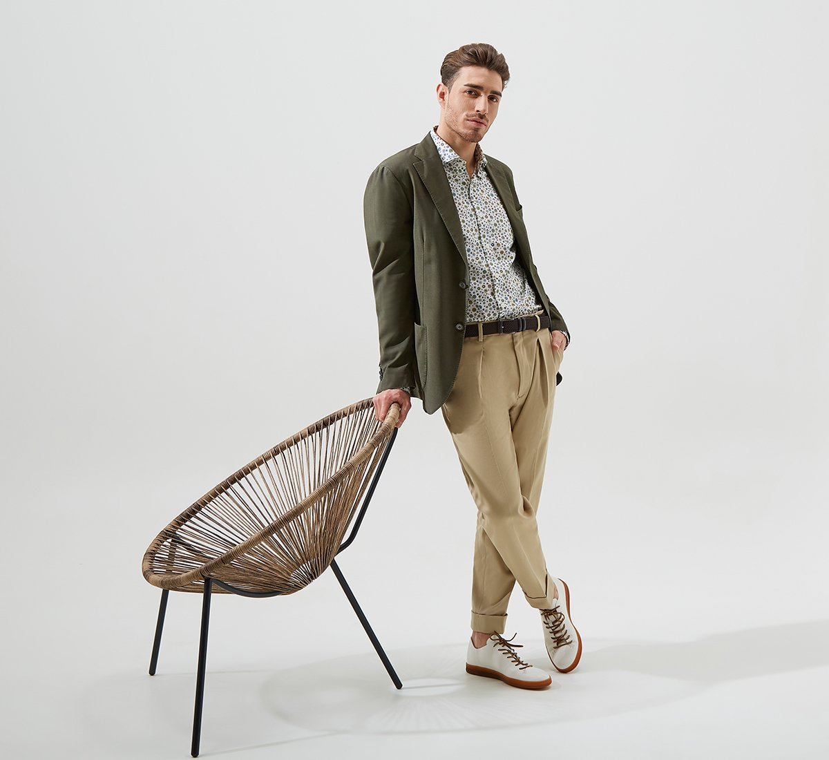Fabric blazer
