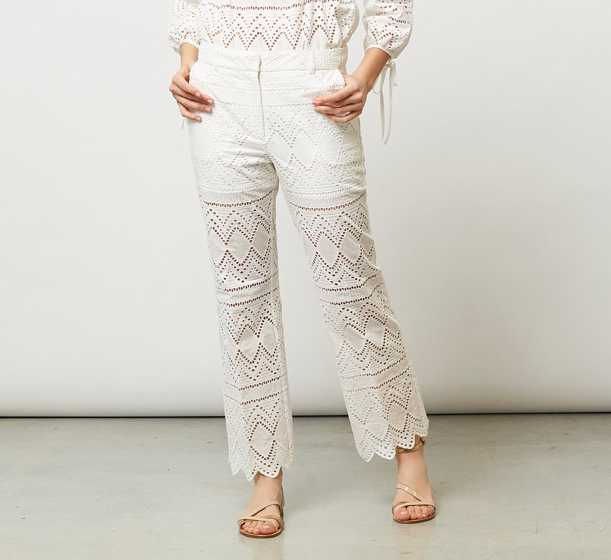 Classic fabric trousers