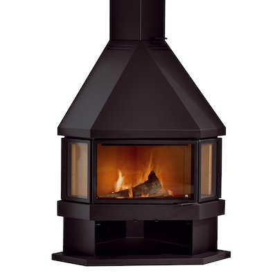 Rocal Estela Corner Wood Fireplace