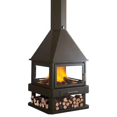 Bronpi Huelva Central Wood Fireplace