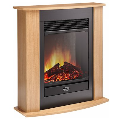 Dimplex Figaro Optiflame Electric Fireplace Suite