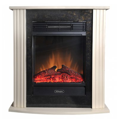 Dimplex Mini Mozart Optiflame Electric Fireplace Suite
