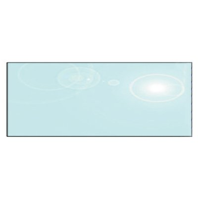 EVA 12mm Rectangular Glass Hearth Floor Plate (300x1000)