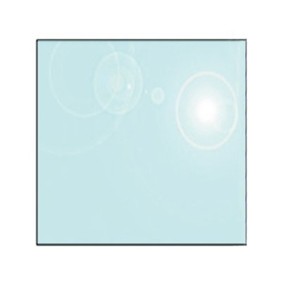 EVA 12mm Square Glass Hearth Floor Plate (900x900)
