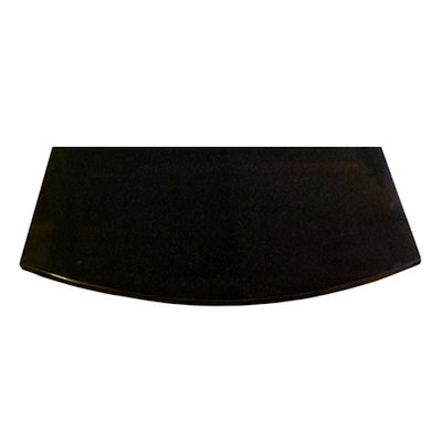 EVA 20mm Full Chord Polished Black Granite Floor Plate (500x1000)