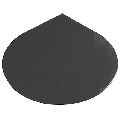 EVA 20mm Teardrop Circle Honed Slate Floor Plate (1100x950)