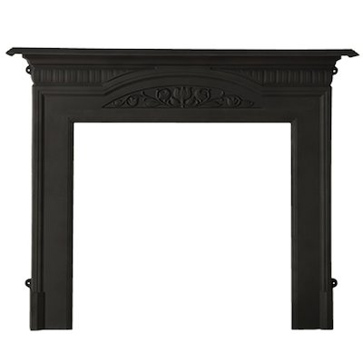 Cast-Tec Harton Cast-Iron Fireplace Surround