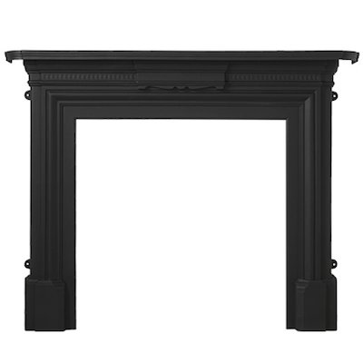 Cast-Tec Limerick Cast-Iron Fireplace Surround
