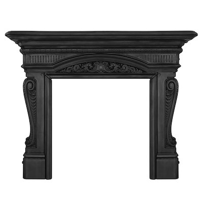 Carron Buckingham Cast-Iron Fireplace Surround