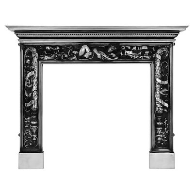 Carron Mayfair Cast-Iron Fireplace Surround