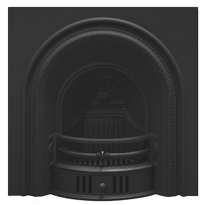 Carron Beckinham Cast-Iron Arched Fireplace Insert