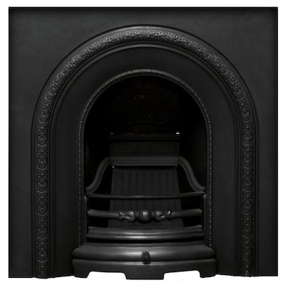 Carron Ce Lux Cast-Iron Arched Fireplace Insert