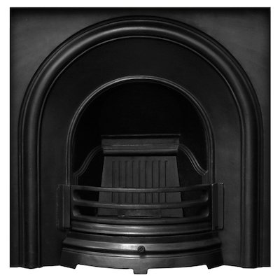 Carron Celtic Cast-Iron Arched Fireplace Insert