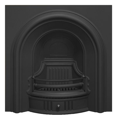 Carron Coleby Cast-Iron Arched Fireplace Insert