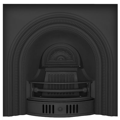 Carron Collingham Cast-Iron Arched Fireplace Insert