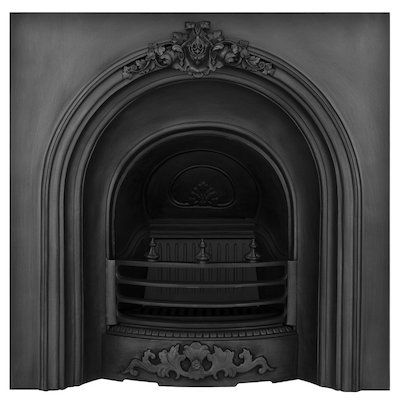 Carron Prince Cast-Iron Arched Fireplace Insert
