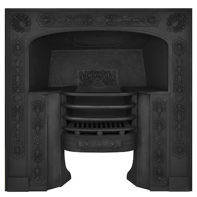 Carron Queensferry Cast-Iron Fireplace Insert