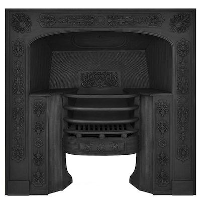 Carron Queensferry Cast-Iron Fireplace Insert